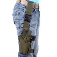 Adjustable Pistol/gun Drop Puttee Leg Thigh Holster Pouch Holder 600d Pw7g