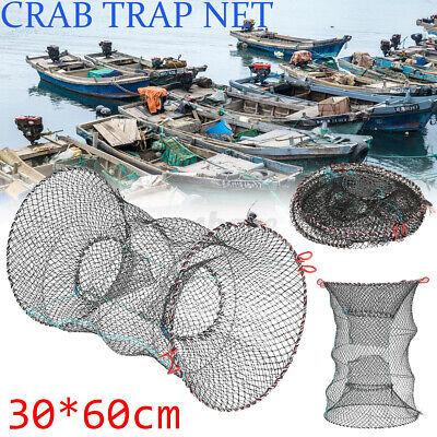 EY/_ CRAB TRAP NET FOR CRAB PRAWN SHRIMP CRAYFISH LOBSTER EEL LIVE BAIT FISHING P