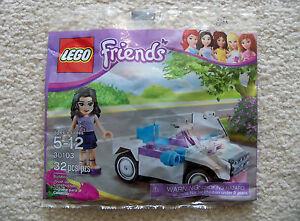 LEGO-Friends-Rare-Emma-039-s-Car-30103-New-amp-Sealed