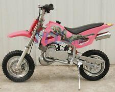 KIDS 49cc 2-Stroke GAS Motor Mini Pocket Dirt Bike Free S/H PINK I DB49A