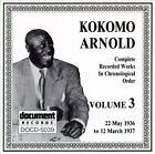 Complete Recorded Works, Vol. 3 (1936-1937) by Kokomo Arnold (CD, May-1996, Document (USA))