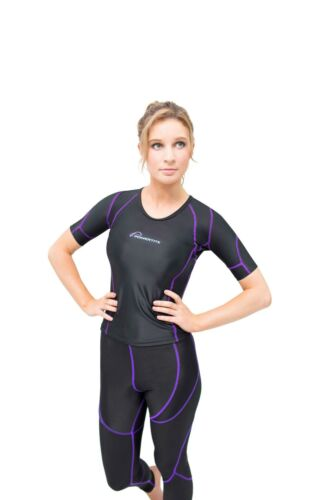 POWERTITE WOMENS COMPRESSION SKINS SHORT SLEEVE TOP