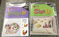 Amazing Designs Applique It & Size It Embroidery Machine Software Combo Ad-aisi