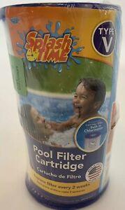 Universal-Pool-Filter-Cartridge-Type-V-Splash-Time-New-2-Pack