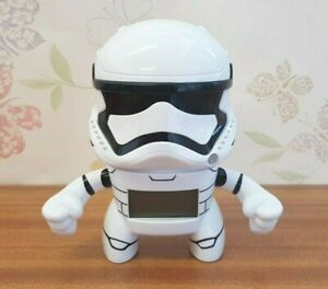Star-Wars-Storm-Trooper-Bulb-Botz-Alarm-Clock-Toy-Very-Good-Condition