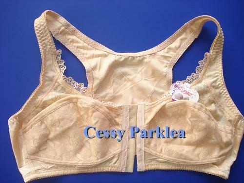G1-1 Non-padded Front-Closure Wire-Free Extra Support Sport Back Plus Size Bras
