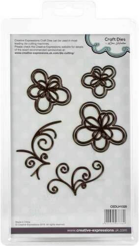 Creative Expressions Floral Craft Dies By Lisa Horton Layered Loo 499994216120