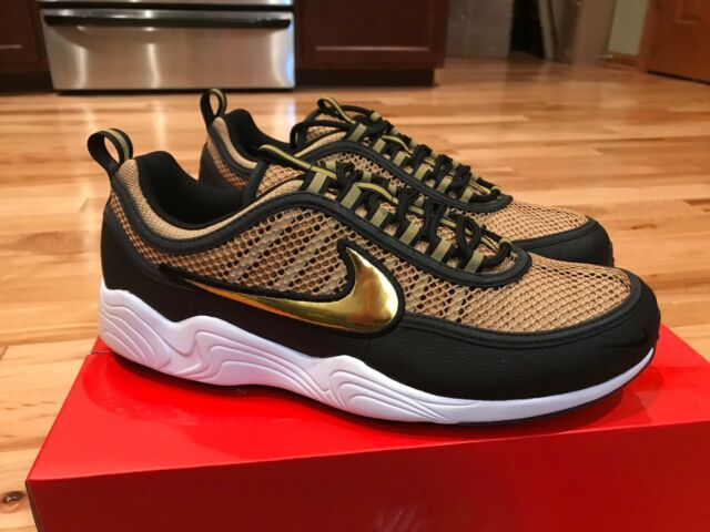 d30b2bfb9827 Nike Mens Air Zoom Spiridon Size 9 Gold Medal Olympic USA 849776-770 ...