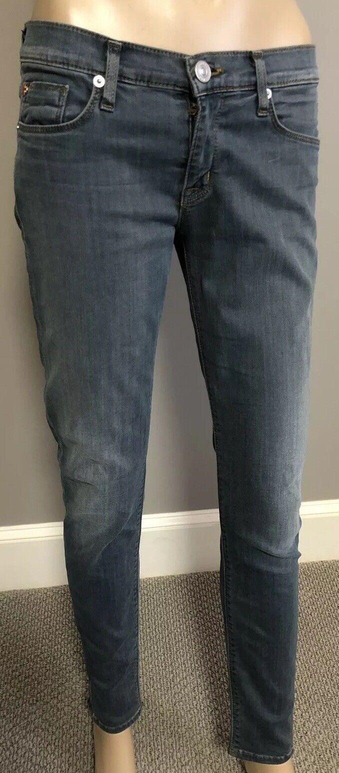 NWOT smokey bluee super skinny Krista   jeans by Hudson sz 26