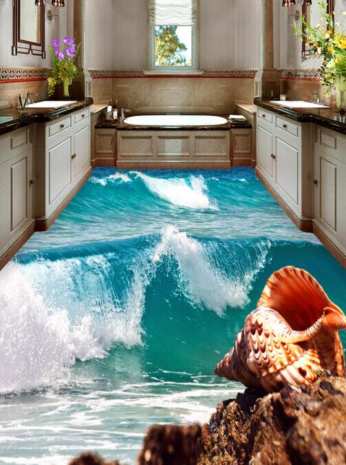 3D Marée Marée Marée 16 Fond d'écran étage Peint en Autocollant Murale Plafond Chambre Art | Des Technologies Sophistiquées  1f22bf