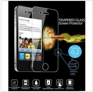 Vitre-protection-VERRE-TREMPE-pr-iphone-2-4-4S-C-5S-6S-6-7-plus-x-tempered-glass