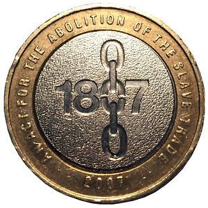 2007 UK Abolition Von Slavery Handel 200 Jahr Jubiläum (1807) Zwei Pfund Münze