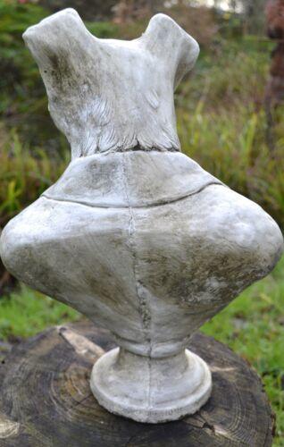 "FUNNY CANE TERRIER pietra ornamento Busto DESIGN ORIGINALE Lord Russell 41cm//16/""H"