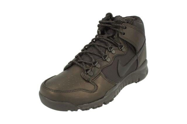 Mens Nike Dunk High SB OMS Boot Blackout Black 536182-001 US 10 for ... 678c31d278c7