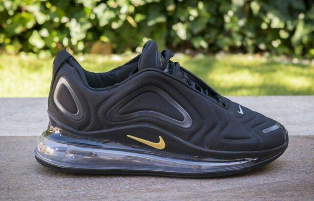 Scarpe Nike Air Max 720 Nero Black Gold Oro 40,41,42,43,44,45