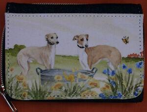 ITALIAN-GREYHOUND-DOG-DENIM-BLUE-FABRIC-PURSE-WALLET-WATERCOLOUR-ARTIST-PRINT