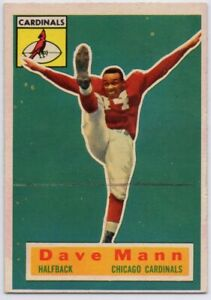 1956-Topps-34-SP-Rookie-Dave-Mann-VG-VGEX-Chicago-Cardinals-FREE-SHIPPING