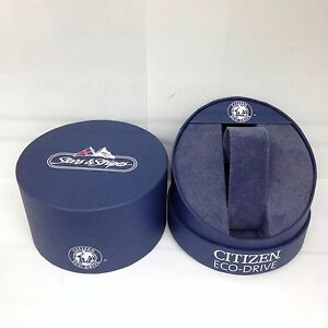 CITIZEN-Eco-Drive-Original-Stars-Stripes-Watch-Box-Presentation-Storage-Case