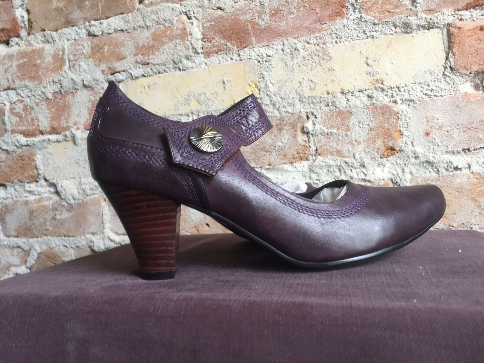 Spring Step Pumps Jubilee lila Leather Pumps Step a31510