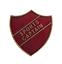 Sports CAPITAN Red Pin Badge per le Scuole