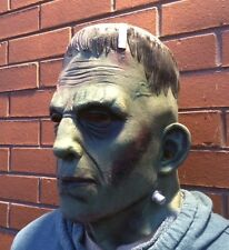 Deluxe Frankenstein Monster Mask Latex Boris Karloff Halloween Horror Cosplay