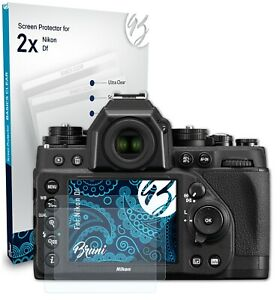 Bruni 2x Folie für Nikon Df Schutzfolie Displayschutzfolie