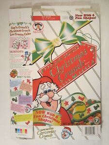 Christmas Crunch Cereal.Details About Mt Cereal Box Cap N Crunch 1996 Christmas Crunch 15oz Holiday History G7d3n