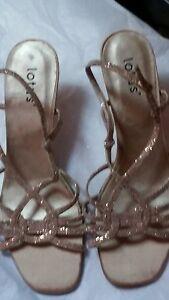 2019 Nouveau Style Neuf: Lotus Or Soirée Sandale Chaussures à Lanières Taille 5-afficher Le Titre D'origine