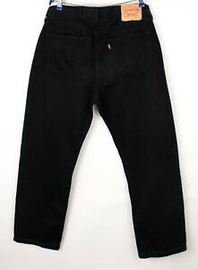 Levi's Strauss & Co Hommes 751 02 Droit Jambe Slim Jean Taille W36 L28 BCZ689