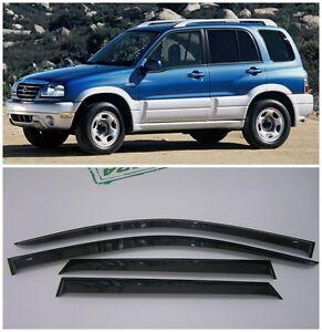 For Suzuki Grand Vitara 1998-2005 Side Window Visors Rain Guard Vent