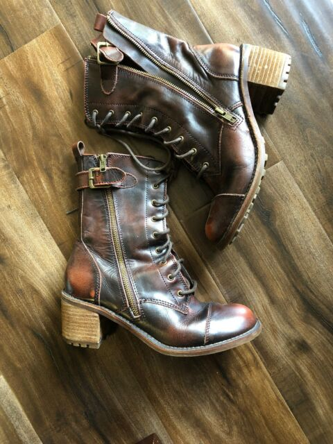 Ankle BOOTS Lace up for sale online
