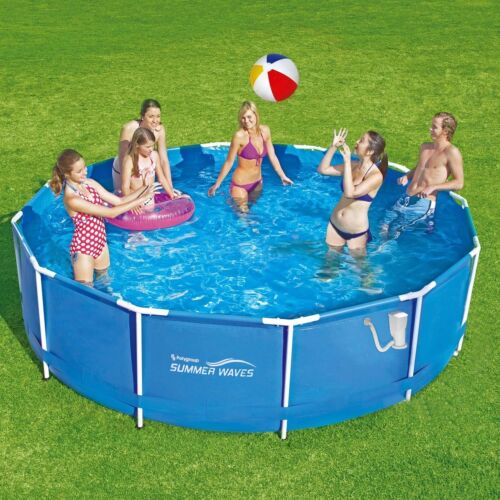 Summer Waves Frame Pool 366x91cm Rahmen Swimming Pool Schwimmbad Filterpumpe