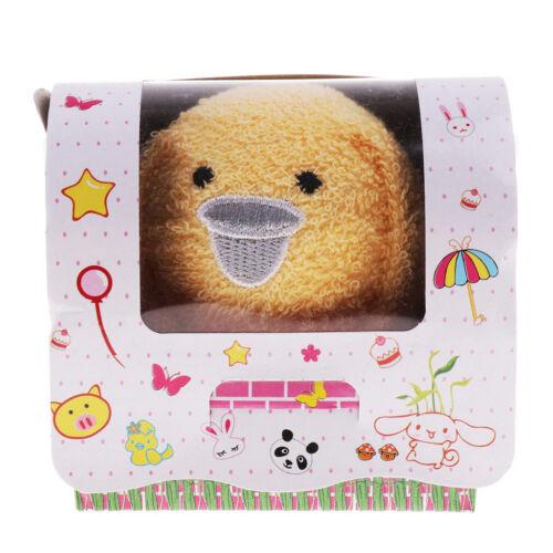 Kid Baby Tiere Falten Handtuch Valentine Xmas Waschlappen Kuchen Handtuch