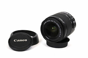 Canon-Zoom-Lens-EF-S-IS-II-3-5-5-6-18-55mm-Weitwinkel-Objektiv-fuer-Canon