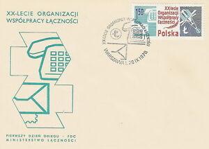 Poland FDC (Mi. 2576) Postal co-operation #1 - Bystra Slaska, Polska - Poland FDC (Mi. 2576) Postal co-operation #1 - Bystra Slaska, Polska
