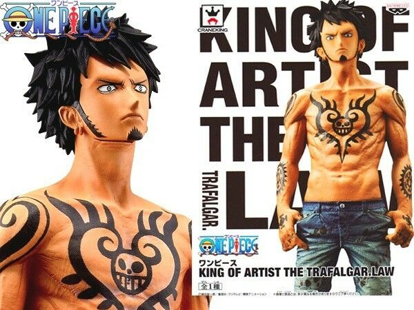 ☀ One Piece Trafalgar Law Banpresto King of Artist KoA Figure Figurine Japan ☀
