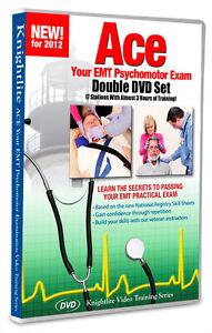 Details about Ace Your EMT National Registry Practical (Psychomotor) Exam  Knightlite Software