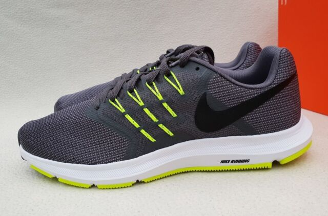 NIKE RUN SWIFT TRAINERS SNEAKERS RUNNING SHOES 908989 007 COOL GREY VOLT UK 7.5