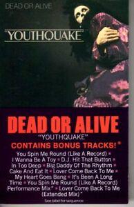 Dead-Or-Alive-Youthquake-1985-Cassette-Tape-Album-Pop-Dance-Rock-80s-90s