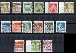 BRD-1966-Mi-Nr-489-503-Deutsche-Bauwerke-II-postfrisch
