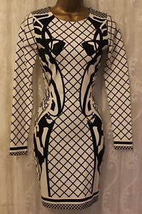 Aq Uk Asos 6 34 Bodycon Mini Dress Cocktail Dress Deity Fit Stretchage qqzrwFd