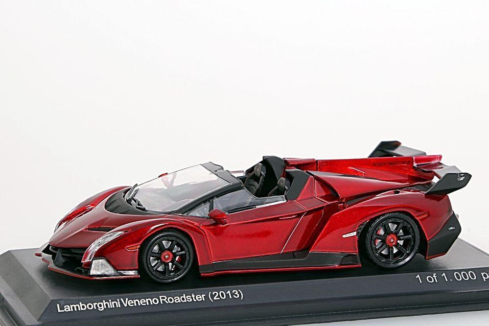 Lamborghini Veneno Poadster red metallic WhiteBox 1 43 NEU OVP OVP OVP 64a52b