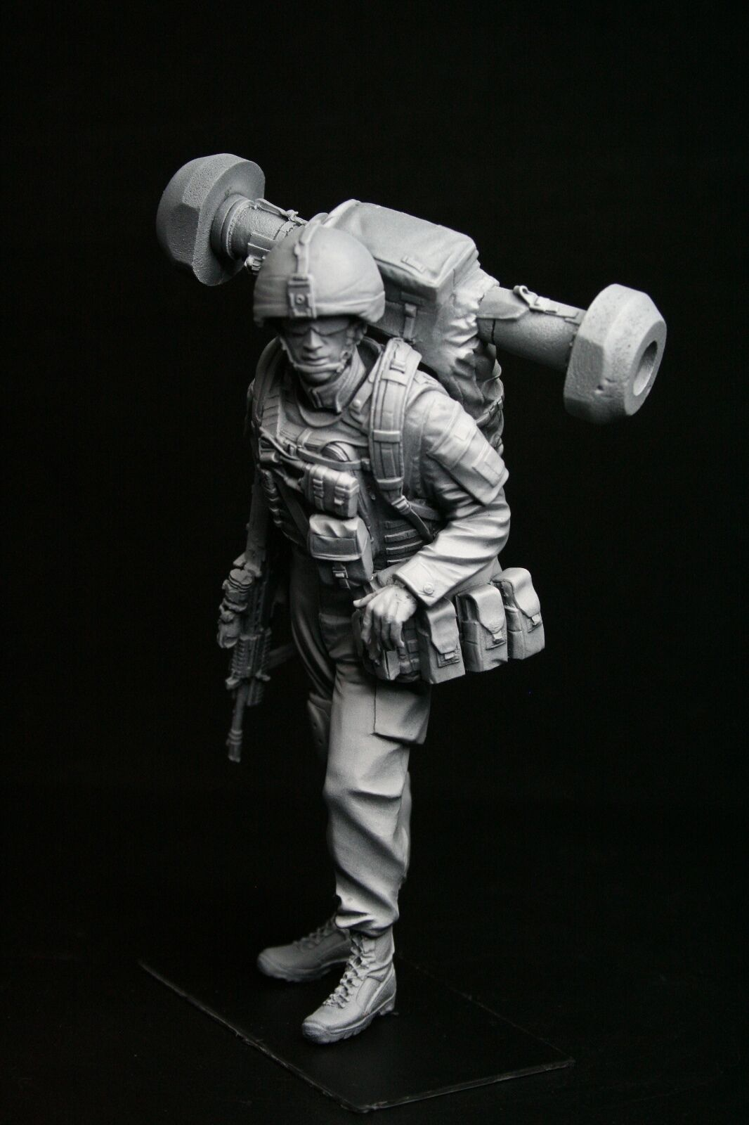 120mm 1 16 British Javelin Operator, sculpted by Maurice Corry