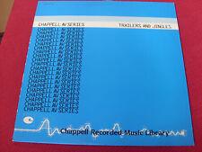 Chappell AV Series: Trailers & Jingles  NM  Library  LP  Psych/Funk/Breaks