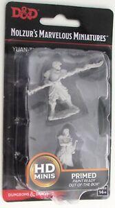 YUAN-TI PUREBLOOD ADVENTURERS Nolzur's Marvelous Miniatures Unpainted D Dungeons