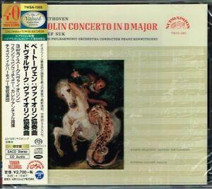 Beethoven-Dvorak-Violin-Concertos-Josef-Suk-Japan-SACD-w-OBI-NEW-SEALED