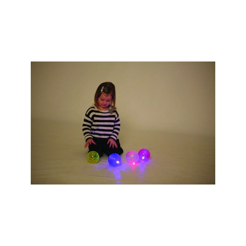 Sensory Light Sphere Play Fun