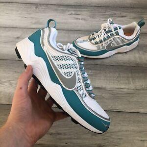 Nike-Air-Zoom-Spiridon-Baskets-Blanc-Vert-Taille-UK7-US8-CM26-EUR41-849776-102