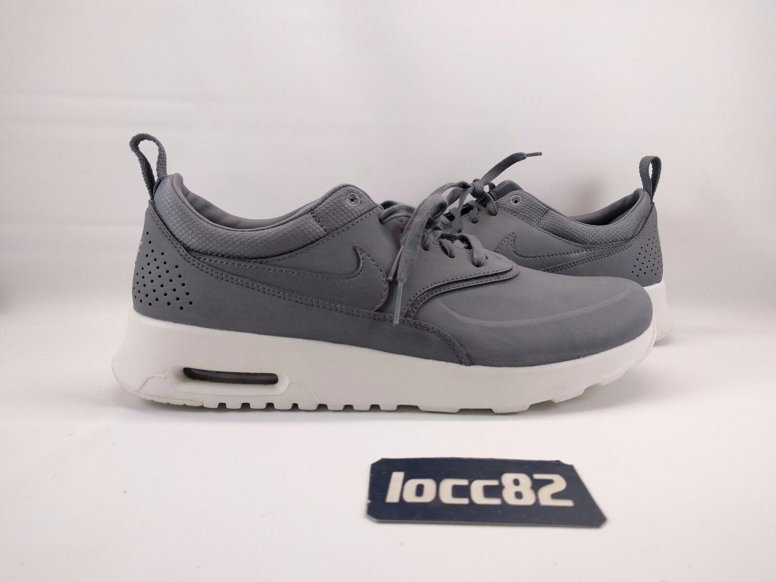 Nike Women's Air Max Thea sz 9.5 [616723 008] cool grey gray PRM one 90