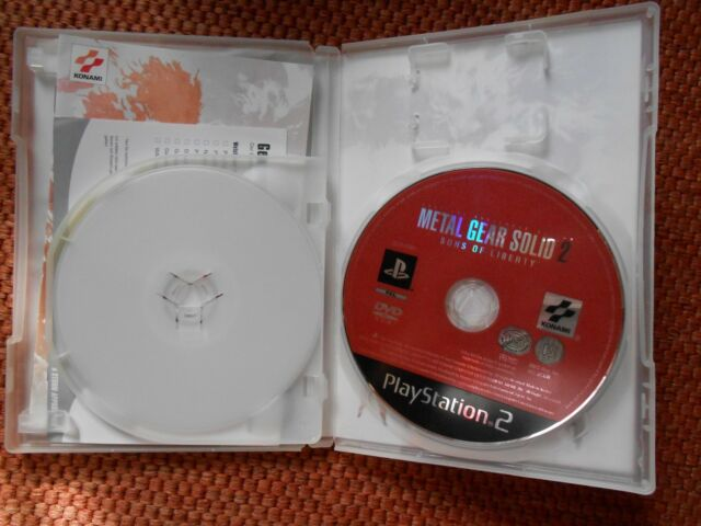 Metal Gear Solid 2 Sons Of Liberty Sony Playstation 2 2002 Dvd